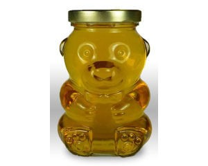 Glass Bear 12/PK (NO LIDS)