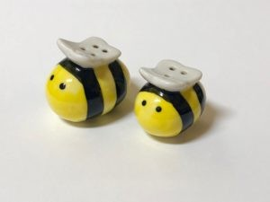 Bee Salt & Pepper Shakers