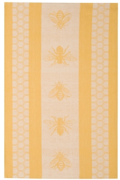 Honey Bee Jacquard Towel