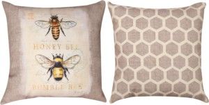 Indoor/Outdoor Honeybee Pillows