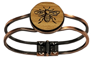 Hinged Bee Bracelet