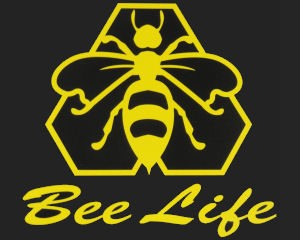 Bee Life Window Decal